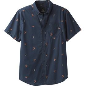 Prana Broderick Miehet Lyhythihainen paita , sininen